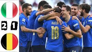 Partita Italia Belgio -