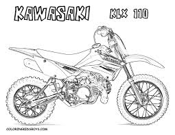 Dirt Bike Coloring Pages | Coloring pages for Boys | #9 Free ...