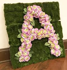 5 Easy Steps to Create a DIY Floral Letter | Floral letters ...
