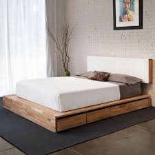 low platform beds with storage. Plain Platform Low Headboard Beds Best 25 Platform Bed Ideas On Pinterest For With Storage G