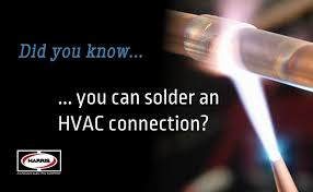 Harris Solder Chart Did You Know That You Can Solder An Hvac Connection The