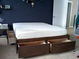 king size storage bed frames – homeinspectormacombcounty.info