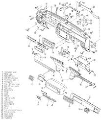 2 exploded view of the instrument panel justy