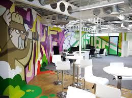 cool office art. Hand-painted Mural For London Design Agency Office Mural, Art, Interior Cool Art N