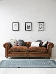 Leather Sleeper Sofa as Fancy Furniture Design in Living Room Hupehome