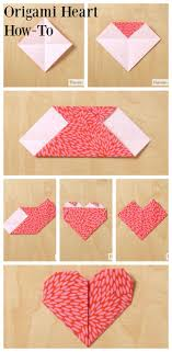 origami heart how to