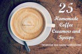 what are your favorite flavors of homemade coffee creamers