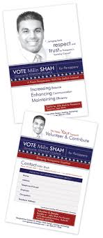 gateserver website development programming marketing promotional flyers for parsippany township council s candidate s election campaign