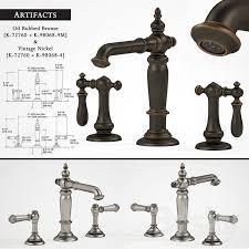 kohler artifacts bathroom sink faucets 1