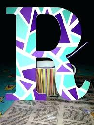 wooden letter ideas designs wood painting letters design