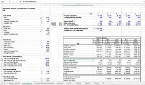 Startup Excel Model