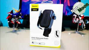 Unboxing - <b>Baseus Armor Motorcycle Holder</b> (Holder Handphone ...
