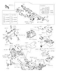 Kawasaki parts fresh 2015 kawasaki versys 650 abs kle650fff chassis electrical