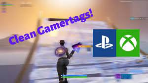 100+ cool fortnite names and nicknames. Clean Sweaty Xbox And Ps4 Gamertags Not Taken April 2020 Youtube