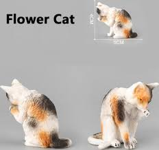 simulation animal neko figurine toy