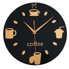 coffee coffeesphere wall clock