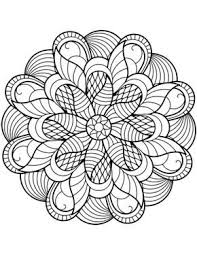 Flower Mandala Coloring Page Coloring Pictures Mandala Coloring