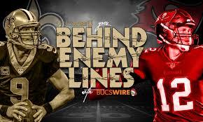 The big game / 1 day ago. Behind Enemy Lines Week 1 New Orleans Saints Vs Buccaneers Preview