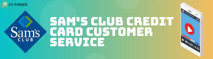 sam s club credit card customer service