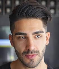أفضل قصات شعر رجالي للوجه الطويل 2019 إطلالة جذابة سيدي