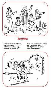 Bartimaeus Printable Google Search Crafts Sunday School