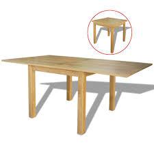 Ausziehbarer Tisch Eiche 170x85x75 Cm