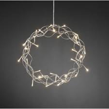 metallic pendant lighting design discoveries. Silver Metal Christmas Wreath Warm White LEDs Metallic Pendant Lighting Design Discoveries L