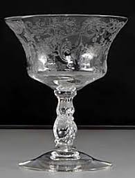Fostoria Crystal Patterns Adorable Elegant Glassware Identification And Value Guide