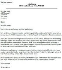 Cover Letter Template For Resume For Teachers Teacher Cover Letter