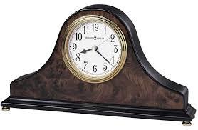 furniture round modern desk clock idea antique brown vintage wood desk clock