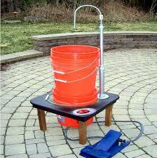 diy 55 gallon bucket sink