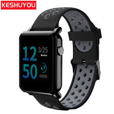 <b>KESHUYOU</b> X6 bracelet <b>smart watches</b> bluetooth android ...