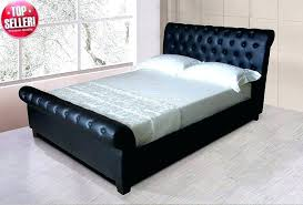 full size of ireland queen faux leather bed black acme furniture with tufted headboard box 2