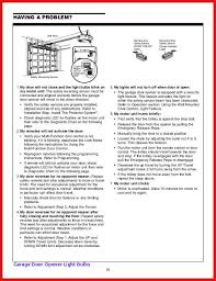 chamberlain garage door opener manual inspiration of