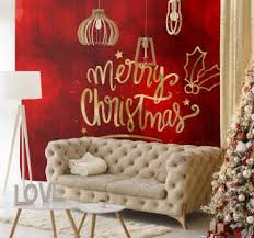 Christmas picture puzzle quiz from video quiz star 100% correct answers. Festive Christmas Wall Murals Tenstickers