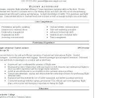 Flight Attendant Sample Resume | Nfcnbarroom.com