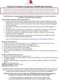 Interpreter Job Description Full Time Translator Interpreter Wiak La
