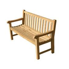 brown wooden long chair aristocrat