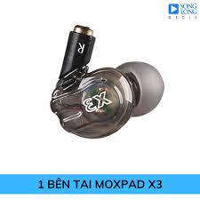 1 bên tai nghe Moxpad X3 chính hãng, giá tốt