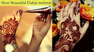 Dubai Style Mehndi Design Dubai Mehndi Design Latest Dubai Mehndi Design Attractive