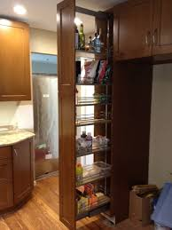 Roll Out Pantry Cabinet Cabinet That Opens From Side