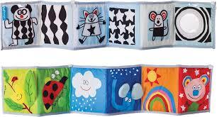 Книжка-игрушка <b>Taf Toys</b> Развивающая книжка, с клипсами, 10635