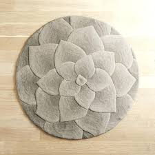rose tufted round rug uniquely modern rugs red rose tufted rug