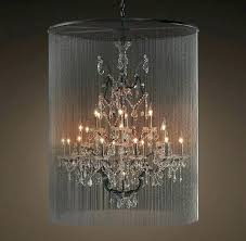 orb chandelier restoration