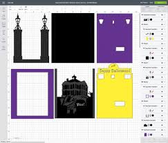 Use this free boo halloween card svg file to make a quick and fun halloween card! Halloween Card Haunted Mansion Shadow Box Jennifer Maker