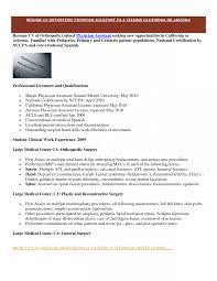 Enchanting Medical Resume Samples For Residency On Templateor Cv