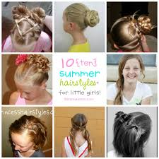 10 Fun Summer Hairstyles for Little Girls | simplykierste.com