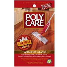 poly care 70012 1oz hardwood floor cleaner 3 packets