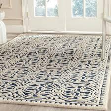 amazing home amusing navy area rugs at wrought studio roush handmade blue gray rug reviews