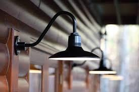 featured customer gooseneck barn lighting for mountain retreat